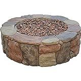 Bond Mfg 034613674563 Bond 67456 Pinyon Gas Stone Look Fire Pit, 28 by 9.1', 28...