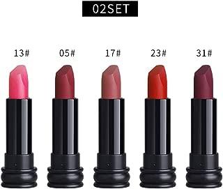 Big Sale! Wintialy 5PCS New Fashion Waterproof Matte Lipstick Cosmetic Sexy Lip Gloss Liphop Kit