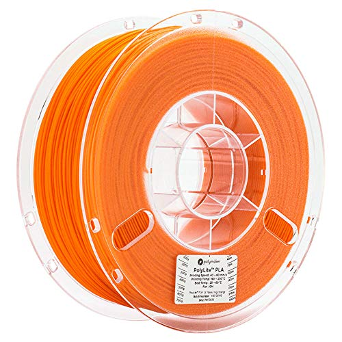 PETG-Filament 1,75mm, 3D-Druckerfilament 1kg (2.2lb), symmetrische mechanische Leistung Wärmeleistung-Orange