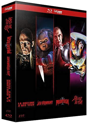 Cult'Horror : Phantasm + Chucky - Jeu d'enfant + Street Trash + La Colline a des yeux [Italia] [Blu-ray]