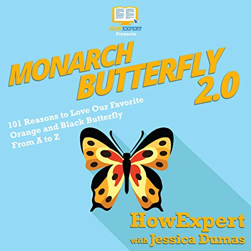 Monarch Butterfly 2.0 audiobook cover art