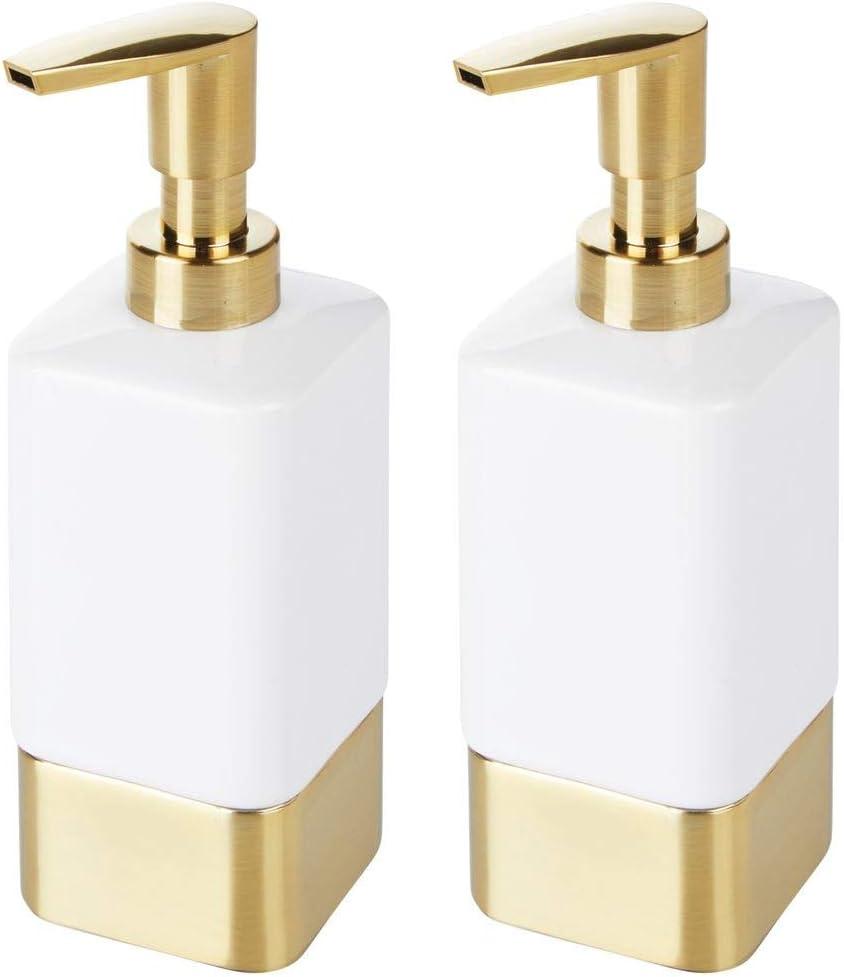Amazon.de mDesign Seifenspender für Bad oder Küche ...
