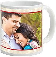 YouWe Fashion Customized Photo Printed Ceramic Mugs, 350 ml (White)