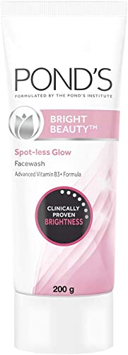 POND'S Bright Beauty Spot Less Glow face wash,Clinically proven brightness 200gm