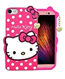 Aarnik Cute Soft Kitty Soft Silicone Printed Back Case Cover for Apple iPhone