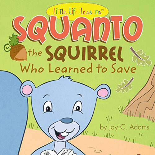 Squanto audiobook cover art