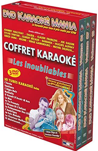 Coffret 3 DVD Karaoké Mania Les Inoubliables