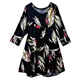 YKARITIANNA Plus Size Womens Casual African Style Soft Comfy Pattern O-Neck Print Half Sleeve Ladies Tops T-Shirt Blouse