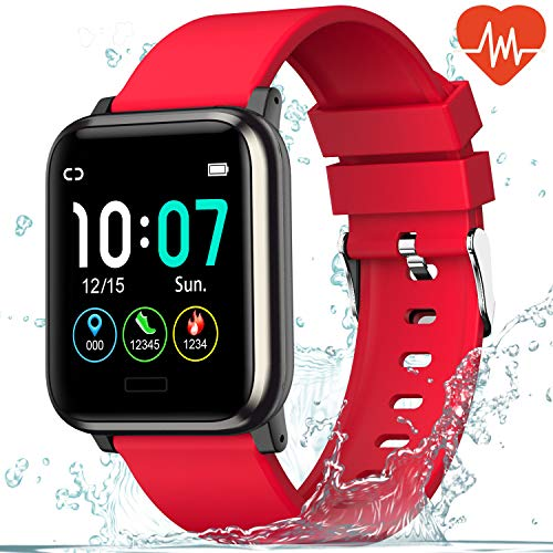 L8star Fitness Tracker,1.3'' Large Color Screen Activity Tracker,Heart...