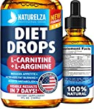 Weight Loss Drops - Made in USA - Best Diet Drops for Fat Loss - Effective Appetite Suppressant & Metabolism Booster -...