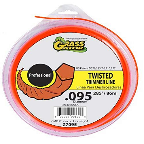 Grass Gator Z7095 Zip String Trimmer Line Pro Large Donut 266-Feet x .095