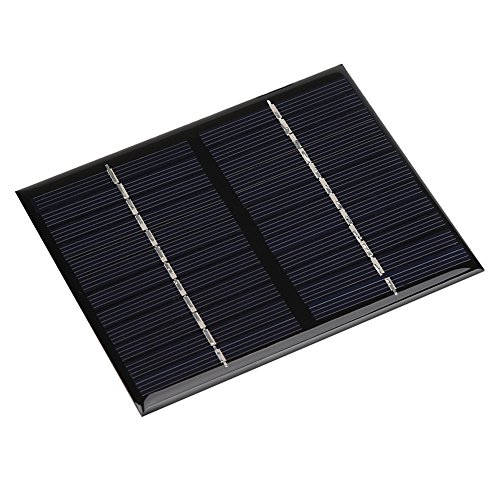 Solar Lijm batterijpaneel, 1.5W 12V MIni Portable DIY Polysilicon Solar Power Panel batterijlader Module voor RV Trailer Camper Marine Off Grid
