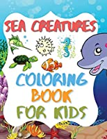 Sea Creatures - Coloring Book For Kids