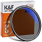K&F Concept 72mm Filtro Polarizador CPL con 18 Capaz MRC Multirresistentes con Funda