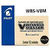 recambios laboratorio de rotuladores crayola Color: Negro Recambio rotulador Pilot Vboard Master color negro (12 unidades)