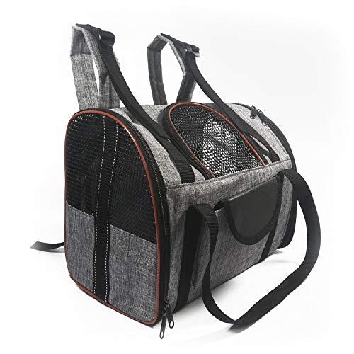 PETCUTE Rucksäcke für Hunde Haustiertragetasche für Hunde hunderucksack Katzen Tragetasche für Hund Hundetasche Transporttasche Hundebox