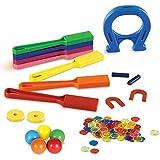 Learning Resources- Kit de Laboratorio de imanes para el Aula, Color (LER2064)