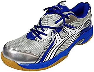 SPARTAN Storm Blue Badminton Shoes
