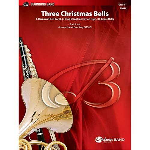 Alfred Publishing 00-29566S Tres Campanas de Navidad - I. ucraniano Bell Carol...