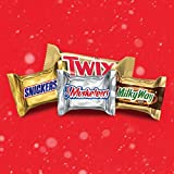 SNICKERS, TWIX, 3 MUSKETEERS & MILKY WAY Minis Size Christmas Candy Variety Mix, 240 Pieces