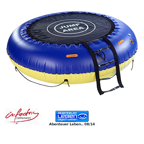 Infactory 4in1 Wassertrampolin