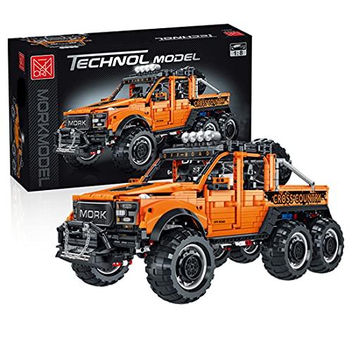 MBKE Technic - Modelo de camión todoterreno, 3218 piezas Technic 6x6 Off Road SUV vehículo construcción conjunto para Buggy Monster, bloques de construcción compatibles con Lego Technic