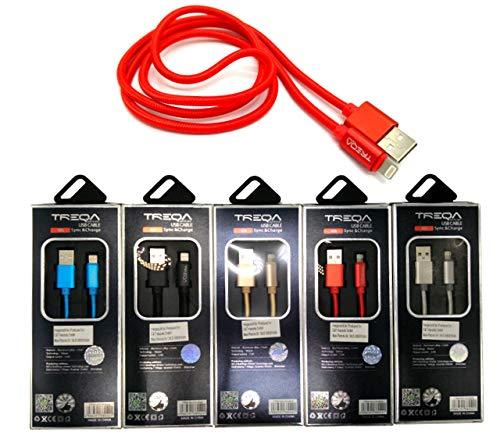 Cable USB A a Lightning cargador para iPhone