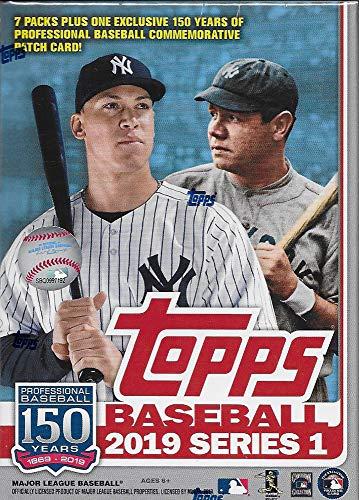 Topps 2019 Baseball Series 1 Sammelkarten Relic Value Box (Retail Edition)