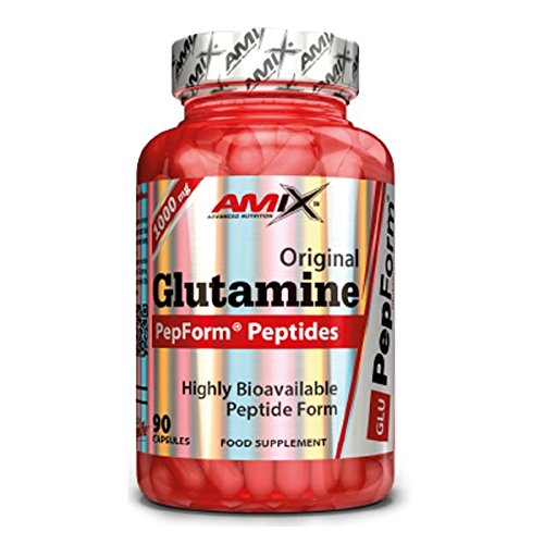 Amix Peptide Pepform Glutamine 90 Caps 0.18 180 g