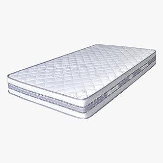 مرتبة سرير سوست متصلة ديلوكس مقاس 23x195x160 سم من فاميلي بد