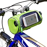 Just Mode(TM) Bicycle Cycling Tube Frame Pannier Waterproof Bike Bag Mobile Phone Screen