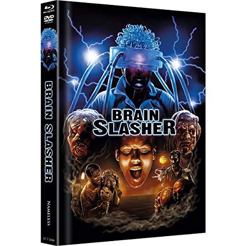 Brain Slasher - Mediabook - Cover B Artwork - Limited Edition auf 333 Stück  (+ DVD) [Blu-ray]
