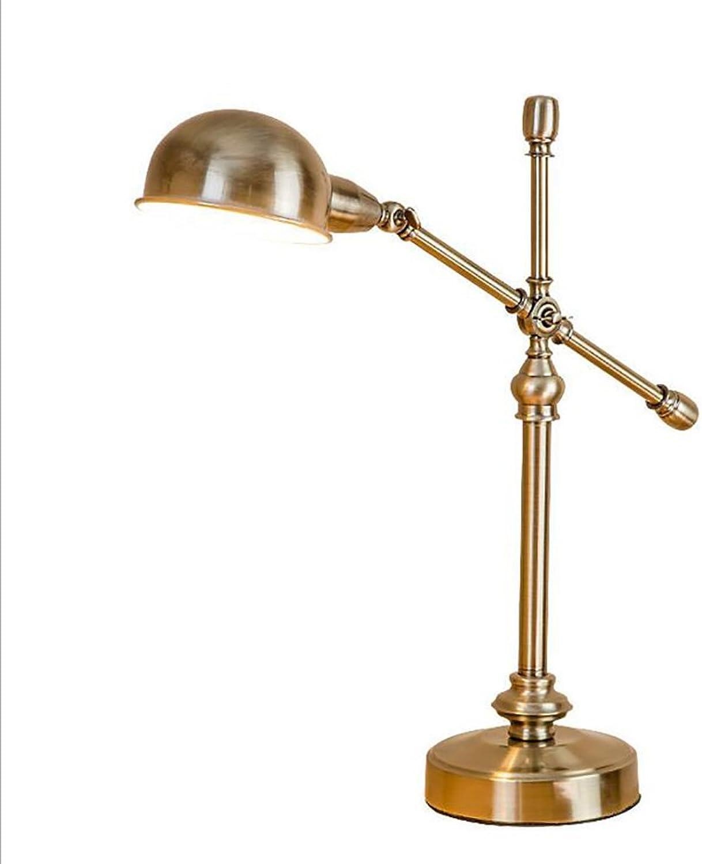 OOFAY BXD American Retro Kupfer Tischlampe Europischen Dekorativen Tischleuchte