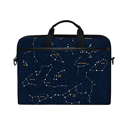 Laptop Sleeve Bag Cool Constellation Art Love Cover Computer Liner Package Protective Case Waterproof Computer Portable Bags