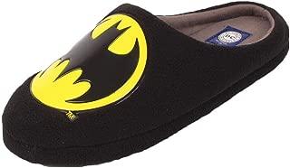 Zapatillas para Hombre DC Comics Originales Mule, diseño de Batman, Color Negro, Tallas 7 a 12