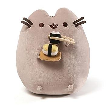 GUND Pusheen Snackables Sushi Chopsticks Plush Stuffed Animal Cat 9.5