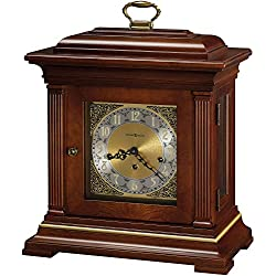 Howard Miller Thomas Tompion Mantel Clock 612-436 – Windsor Cherry with Key-Wound, Triple-Chime Movement
