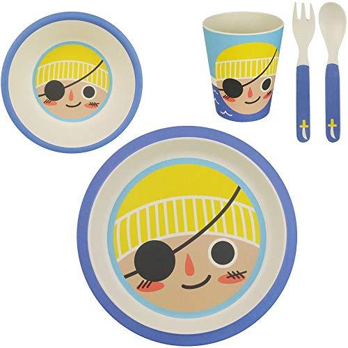 /Fibre de Bambou r/ésistant /à la Chaleur 4 Non Toxique Excellent112/5/pcs//lot Enfants Vaisselle/ Taille Unique Vaisselle pour Nourrir b/éb/é//Enfant//Nourrisson//Trottie//Enfant