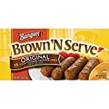 Banquet Brown and Serve Original Sausage Link, 11 Ounce -- 12 per case.
