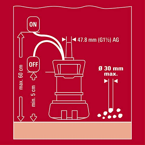 Einhell GE-DP 7330 LL ECO Schmutzwasserpumpe - 12