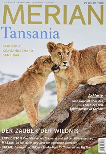 MERIAN Tansania mit DVD 10/19 (MERIAN Hefte)