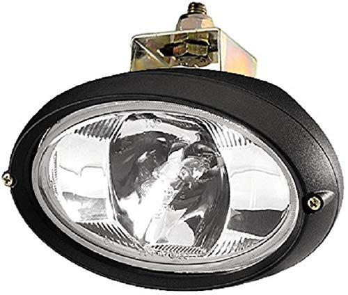 HELLA 1GA 996 561-357 Halogène-Projecteur de travail - Oval 100 - 24V - Montage en saillie - pendu - Éclairage du champs proche - Fiche: Fiche DEUTSCH