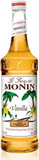 Monin - Vanilla Syrup, Versatile Flavor, Great for Coffee, Shakes, and Cocktails, Gluten-Free, Vegan, Non-GMO (25.4 Fl Oz (Pack of 1))