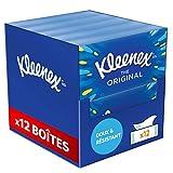 Kleenex THE ORIGINAL – Mouchoirs en papier – Lot de 12 Boîtes