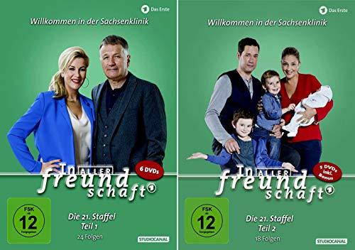In aller Freundschaft - Die komplette Staffel 21 (21.1 + 21.2)