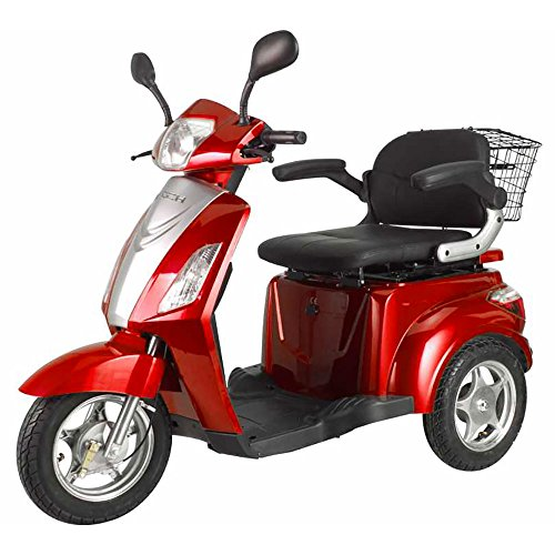 Scooter Elettrico Trilux 500W Z-Tech E-Scooter Rosso