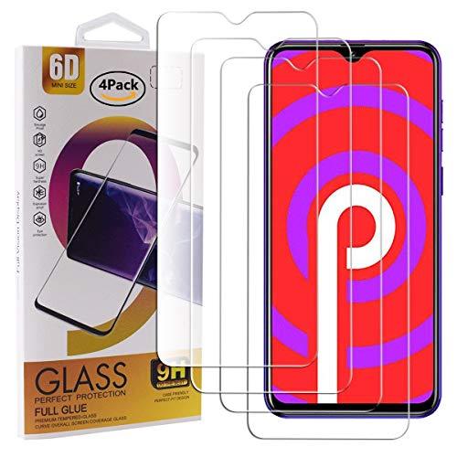 Guran 4 Pezzi Pellicola Protettiva in Vetro Temperato per Vernee M7 (2019) Smartphone 9H Durezza Anti-Impronte HD Alta Trasparenza Pellicola