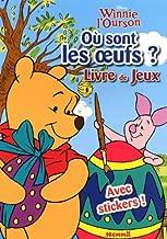 Winnie l'ourson ; où sont les oeufs ? livre de jeux ; Porcinet peint