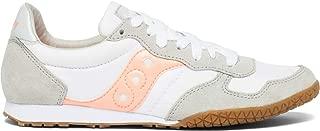 Women's Bullet Sneaker, White/Pink/Gum, 8.5 M US