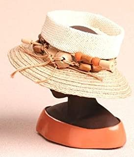 Woven Open Crown Lock - Harriet Rosebud Miniature Hat